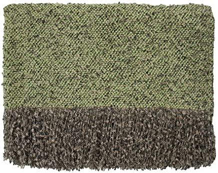 Bedford Cottage Filligree Throw Blanket Celery