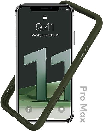 RhinoShield Bumper Case Compatible with [iPhone 11 Pro Max] | CrashGuard NX - Shock Absorbent Slim Design Protective ...