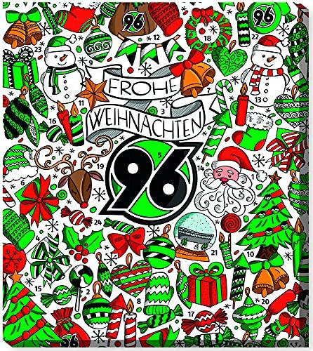 Fussball Hannover 96 Premium Adventskalender mit Poster Weihnachtskalender