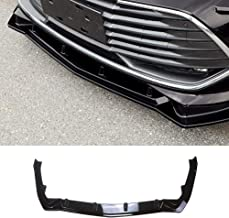 YOUNGERCAR Front Bumper Lip Spoiler Cover Fit For 2019 Toyota Avalon Hybrid/Limited/Touring/XLE/XLE Plus/XLE Premium/XSE PP 3PCS (Gloss Black)
