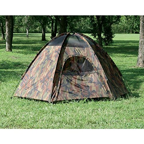 Camouflage Hexagon Dome Tent