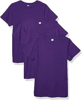 AquaGuard Boys AQU-LA6101-3PK Fine Jersey T-Shirt - 3 Pack Short Sleeve T-Shirt
