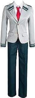 Boku no Hero Academia Uniforms My Hero Academy Hero Tsuyu Cosplay Costume for Women and Men