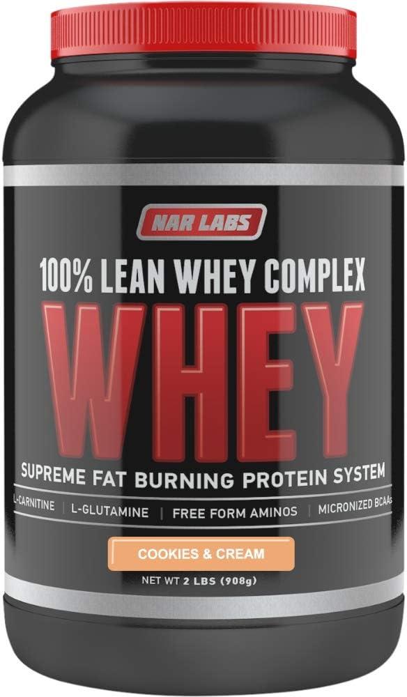 NAR LABS 100% Lean 新品■送料無料■ Whey Complex Cream pounds 超目玉 2 n Cookies