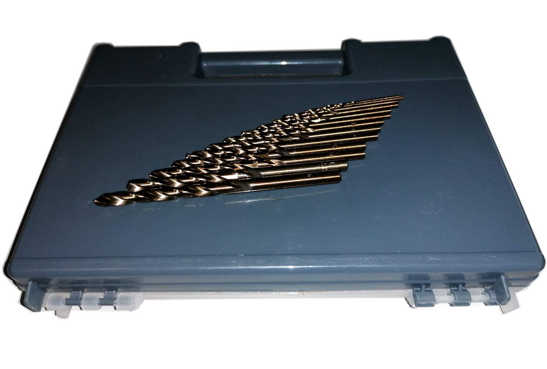 1,0-16,0 mm zur AUSWAHL LOW BUDGET 10//5 x HSSECo5 Basic-Spiralbohrer