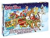 Enthält 24 Überraschungen Exklusiver Inhalt zu Bibi und Tina Enthält 3D Figuren für ein komplettes Spielset Maße: ca. 45 x 34,5 x 4 cm Geeignet für Kinder ab 3 Jahren