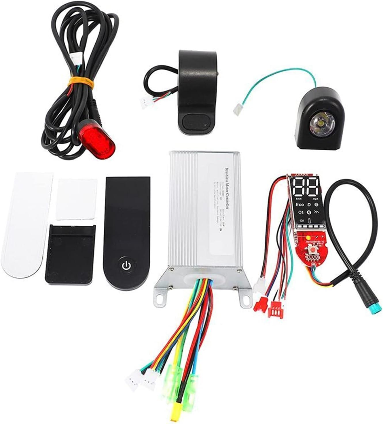 MENGHE TANGZHOU Placa Base del Tablero del Controlador del Scooter de la Novela 35 0W 36V Ajustar para Xiaomi M365 / Pro Frenos de Control y Pantallas (Color : Black)