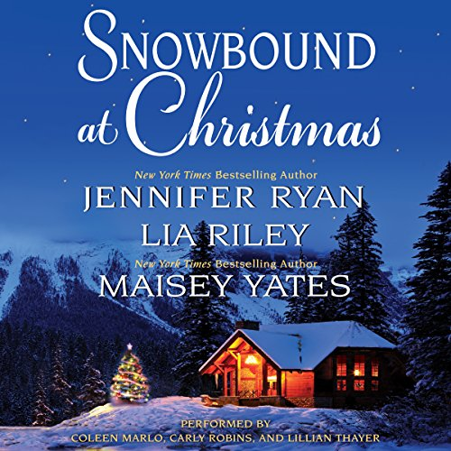 Snowbound at Christmas audiobook cover art