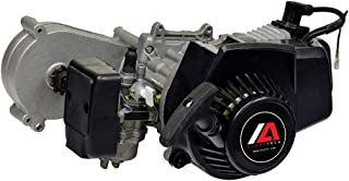 Monster Motion 47cc Engine with Gearbox Transmission for Dirt Bikes, ATVs, and Pocket Bikes