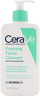 CeraVe, Foaming Facial Cleanser, 12 fl oz (355 ml)