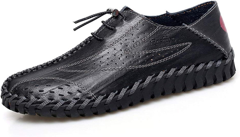 MUWU Oxfordskor för mänLace mänLace mänLace Up Style Formal skor PU läder Personlig stympning med Hollow (färg  svart, storlek  7 D (M) US)  allt i hög kvalitet och lågt pris