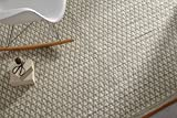 Creative carpets Kilim Alfombra, Lana, Arena, 120x180 cm