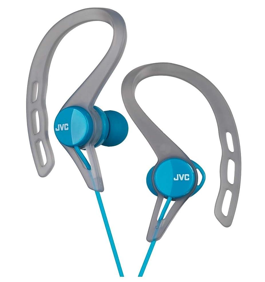 肌寒い予想外ストレスJVC HA-EXC25-A カナル型イヤホン 防滴仕様  スポーツ用 ブルー