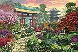 JIANGHUI Rompecabezas 1000 Piezas Game Artwork for Adults Teens,Puzzles,Games-jardín japonés