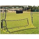 1年間保証 練習網 リバウンド リバウンドネット サッカー フットサル トレーニング ネット 2.1m × 1.2m キック練習 リバウンダー 組立式