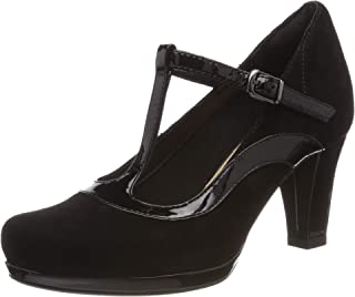 Clarks Damen Chorus Pitch T-Spangen Pumps