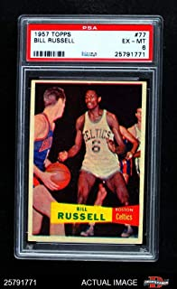 1957 topps bill russell
