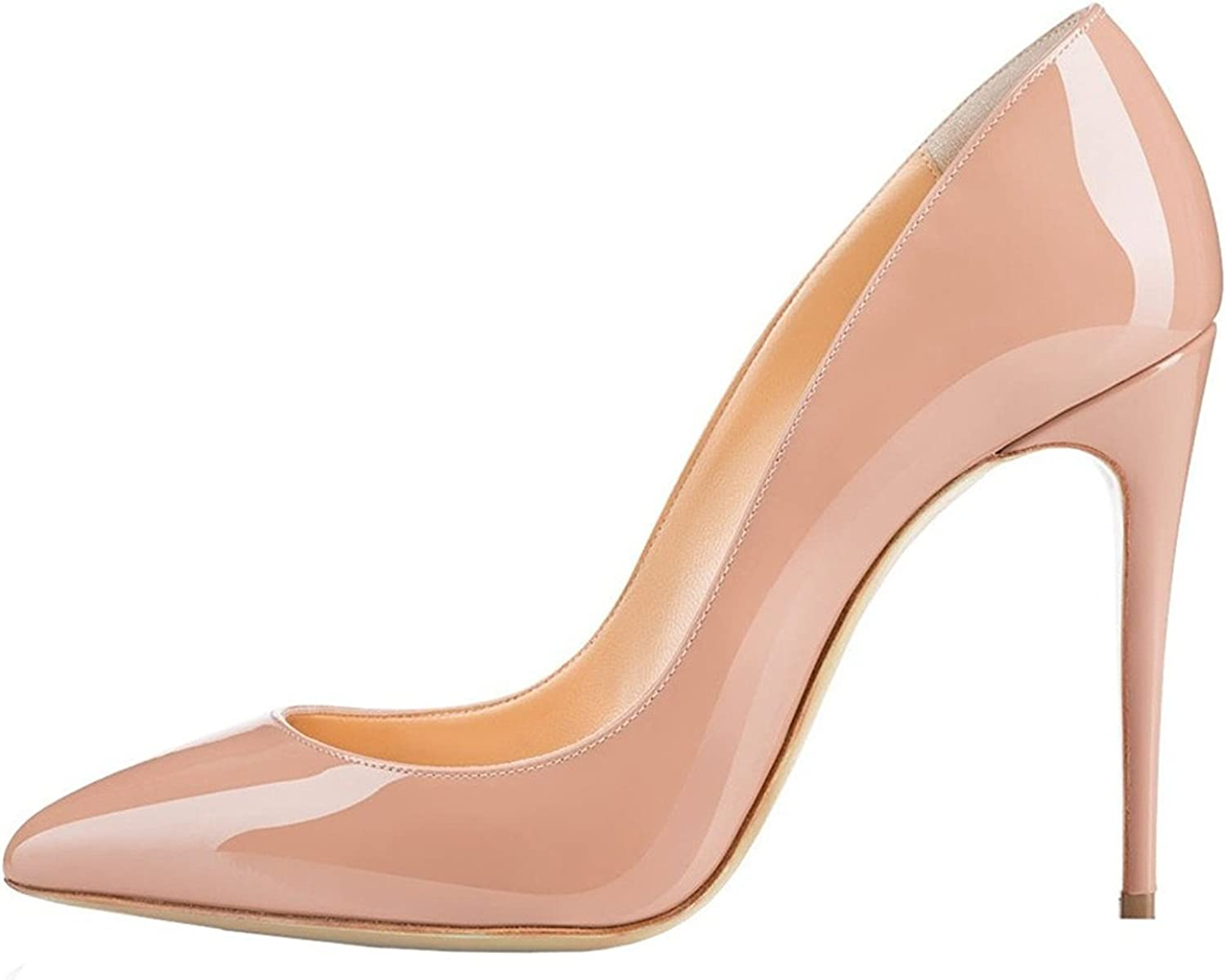 Sammitop Women's Pointed Toe Pumps Classic Stiletto High Heel Office Dress shoes