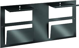 STEELMASTER Steel 4.6 x 30 x 14.6 Inches, Multipurpose Organizer, Black (264P10004)