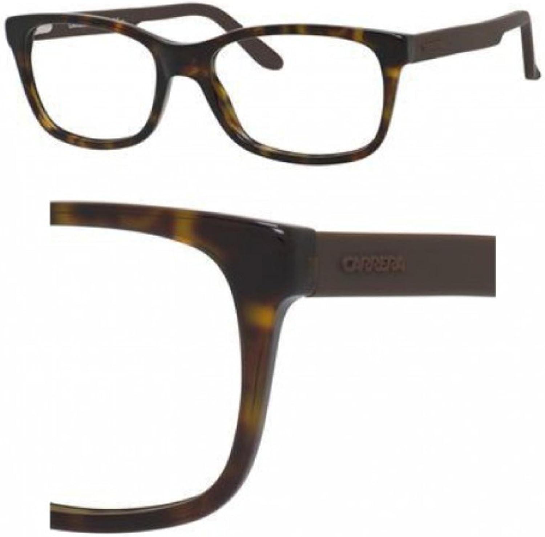 Carrera 6653 Eyeglass Frames CA66530GPS5218  Dark Havana Brown Frame, Lens Diameter 52mm,