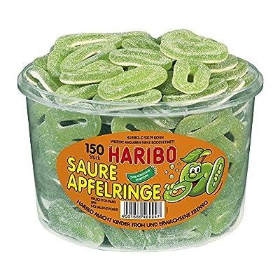 haribo sour apple rings 1.2kg tub pack of 1) Haribo Sour Apple Rings 1.2kg Tub Pack of 1) 61jJlX Wq L
