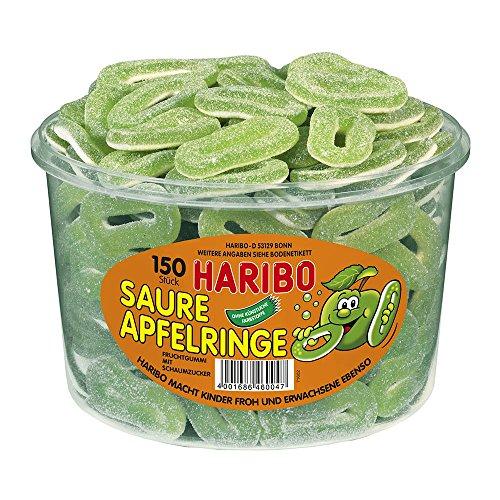 Haribo Saure Apfelringe, 1er Pack (1 x 1.2 kg Dose)