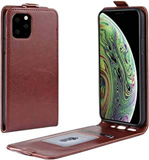 Protect Your Phone, Crazy Horse Vertical Flip Leather Protective Case for iPhone XI (2019) for Cellphone. (Color : Brown)