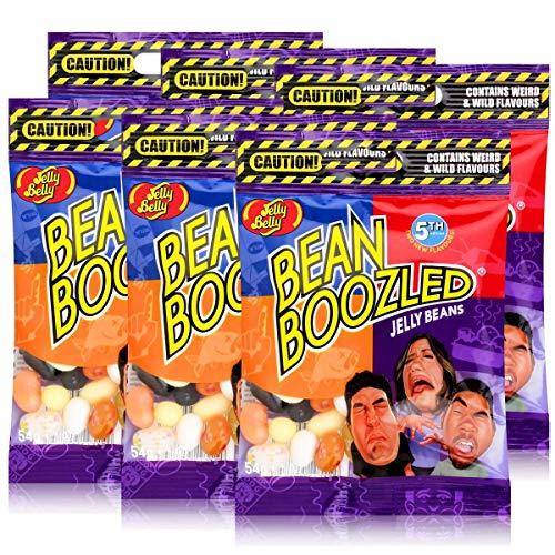 Jelly Belly Bean Boozled Jelly Beans 5TH Edition - Bolsas de 54 g (6 unidades)
