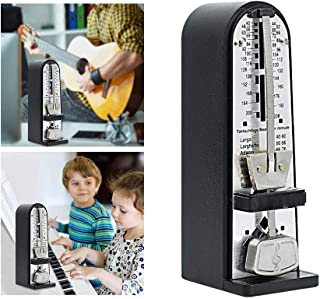 Tower Mechanical Metronome, Mini Guitar Parts, Can Easily Adjust Beat Rhythm Speed, Accurate Timing, Improve Your Musical ...