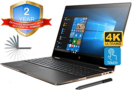 HP Spectre x360 15t 4K UHD Convertible 2-in-1 Laptop (Intel 8th