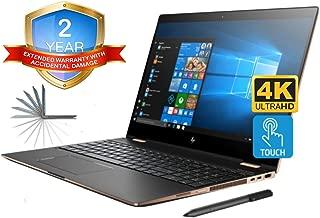 HP Spectre x360 15t 4K UHD Convertible 2-in-1 Laptop (Intel 8th Gen i7-8705G, 32GB RAM, 2TB PCIe SSD, 15.6