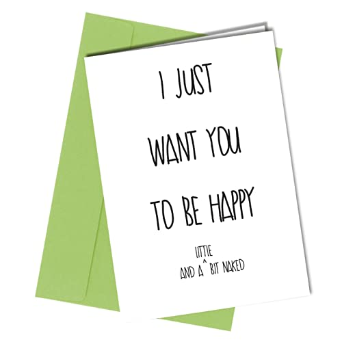 12 VALENTINES Or BIRTHDAY CARD Boyfriend Girlfriend Rude Humorous Funny Greetings Card A4 Folded