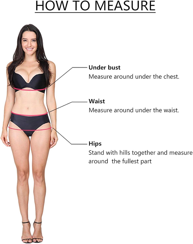 Xinantime Women's 2 Pieces Swimsuits Split Bikini Set High Waist Shorts Mini Backless Tank Tops Summer Tankini Swimwear
