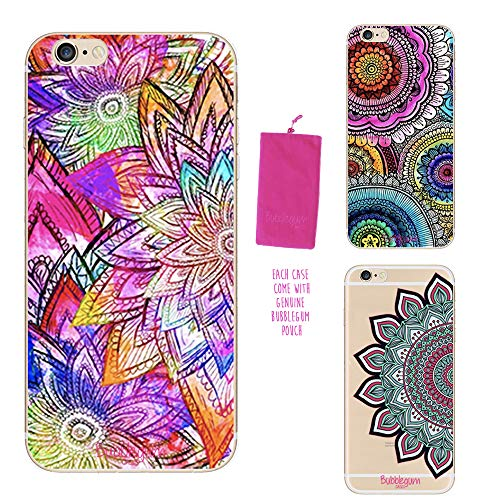 Lote de 3 fundas de regalo para iPhone de Bubblegum Cases.