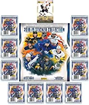 2018/19 Panini NHL Hockey Stickers SPECIAL COLLECTORS PACKAGE with 60 Brand New MINT Stickers & HUGE 72 Page Collectors Album! Plus SPECIAL BONUS of 2005 UD Sidney Crosby ROOKIE Card! Loaded! WOWZZER!