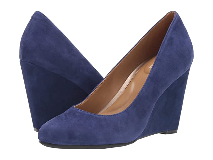 Aerosoles  Bandwagon (Blue Suede) Womens Shoes