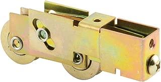 Prime-Line Products D 1791 Prime Line Door Assembly, 1-1/8 in Dia X 5/16 in W, 2 Roller, Steel, Metal Wheel, quot
