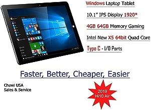 ChuwiUSA HI10 Air Tablet,10.1 inch Intel Cherry Trail X5 Tablet PC, 4GB+64GB Windows 10 OS, WiFi, BT4.0,2K Resolution Screen Tablet PC