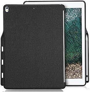 "ProCase iPad Pro 10.5"" 背面ケース バックカバー [ペンシルホルダー付き] スマートキーボードとカバーに搭載可能 対応機種: iPad Pro 10.5"" 2017(A1701 A1709 A1852)、 iPad Air..."