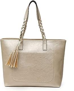 Vintage Women Messenger Bags With Tassel Bags Shoulder Tote Bags PU Leather Handbags