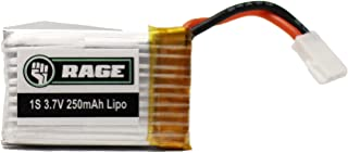 Rage RC A1163 1S 3.7V 250mAh LiPo Battery X-Fly Replacement Parts