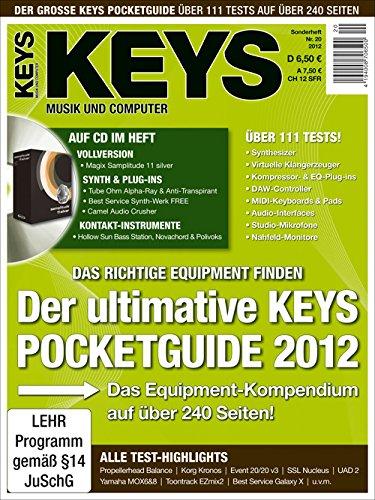 Magix Samplitude 11 silver Vollversion und Synth & Plug-Ins auf Heft CD im Keys Pocketguide