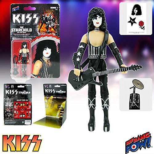 Kiss Love Gun The Starchild 3 3/4-Inch Af Kiss Love Gun The Starchild 3 3/4-Inch Af