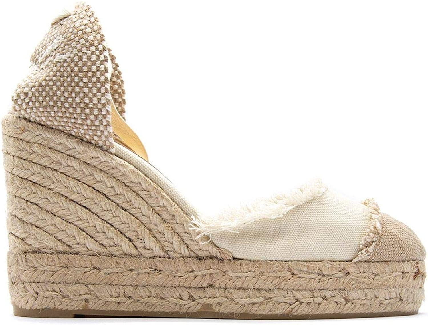 Castaner Women's CATALINA203IVORY White Other Materials Wedges
