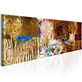 murando Cuadro Pintado a Mano 135x45 cm Arte Moderno Cuadros en Lienzo Original...