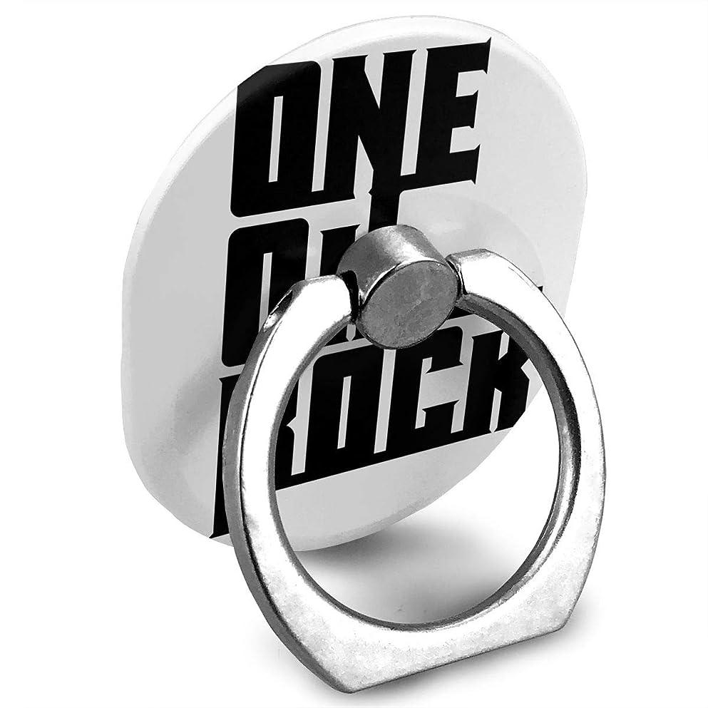 抜け目のない骨折悪党One Ok Rock ワンオク ロック プリント スマホリング ホールド リング 楕円 指輪リング 薄型 おしゃれ 落下防止 360° ホルダー 強吸着力 IPhone/Android各種他対応
