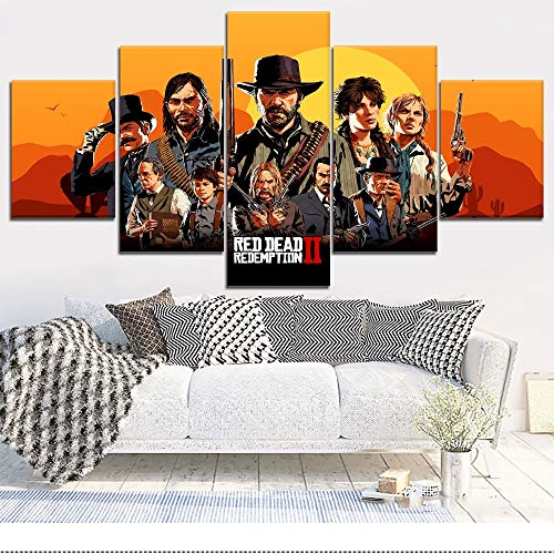 póster red dead redemption 2 fabricante FBH-U