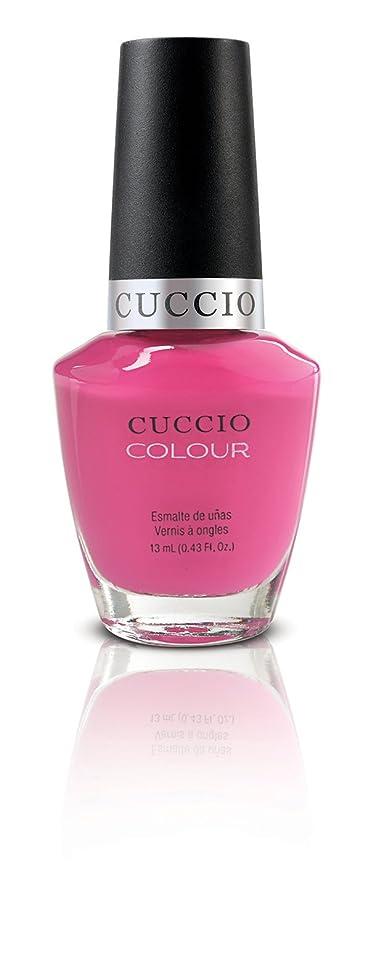 類似性体操しがみつくCuccio Colour Gloss Lacquer - Pink Cadillac - 0.43oz/13ml