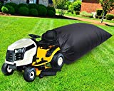 QWEQWE Leaf Bag for Lawn Tractor, Durable 54 cu. ft. 120-inch Opening Garden Lawn Mower Leaf Bags for Fast Garden Leaf Cleaning, Heavy Duty Material – Fast & Easy Leaf Collection (1)