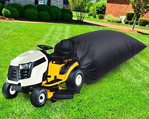 set for lawn mowers QWEQWE Leaf Bag for Lawn Tractor, Durable 54 cu. ft. 120-inch Opening Garden Lawn Mower Leaf Bags for Fast Garden Leaf Cleaning, Heavy Duty Material – Fast & Easy Leaf Collection (1)